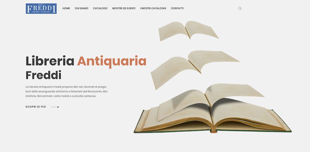 Siti eCommerce Torino - Libreria Freddi