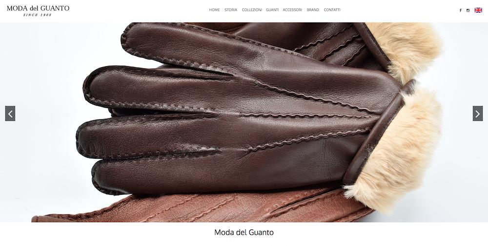 Sito Web Torino - Moda del Guanto