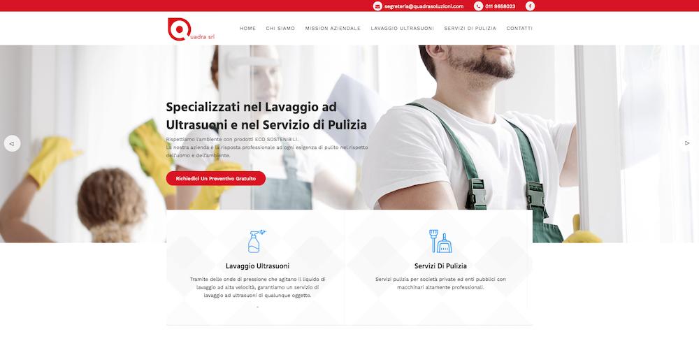 Siti Web Torino - Quadra Soluzioni