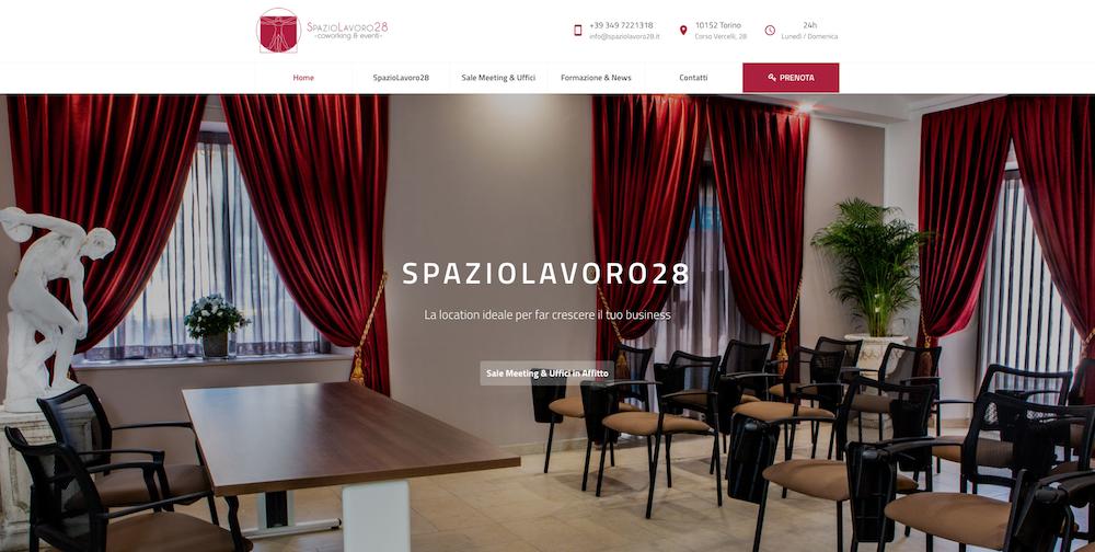 Sito Web Torino - Spazio Lavoro 28