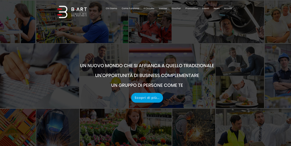 Siti Web Torino - B-Art Group