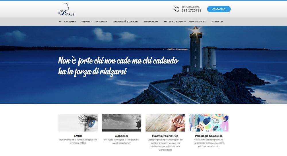 Siti Web Torino - DSI Design Centro Pharus Torino