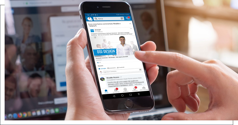Gestione Campagne Linkedin Torino DSI Design