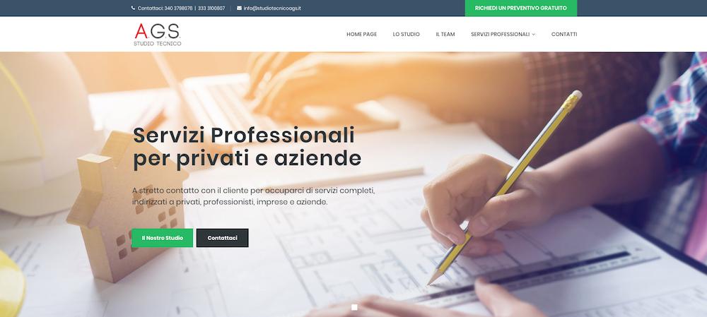 Siti Web Torino - Studio Tecnico AGS