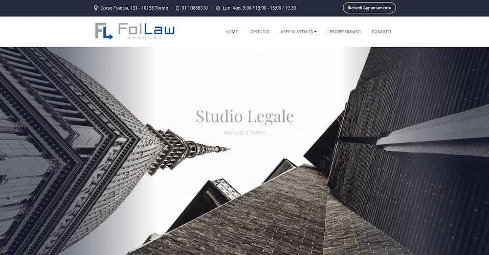 Siti Internet Torino per Studio Legale Avvocati