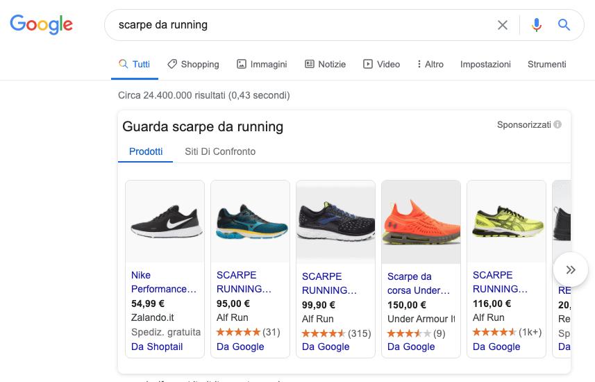 Google Shopping Torino