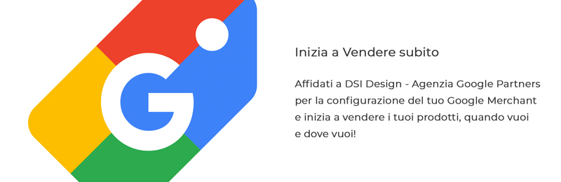 Inizia a vendere subito con DSI Design