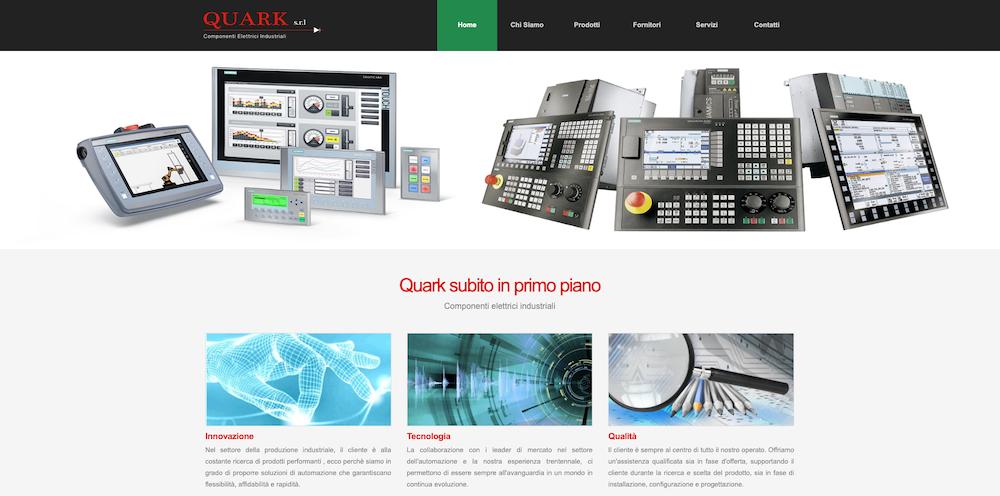 Sito Internet Torino - Quark