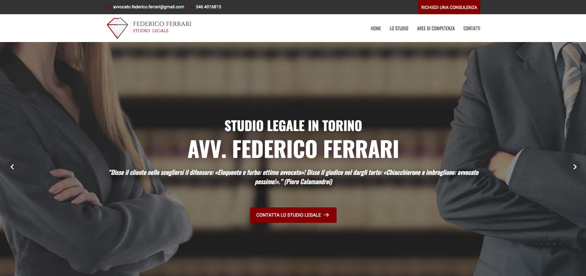 Creazione Sito Web Torino per Avvocati a Torino