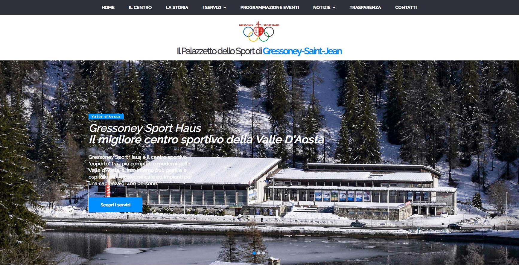 Siti Web Torino per Centro Sportivo della Valle d'Aosta
