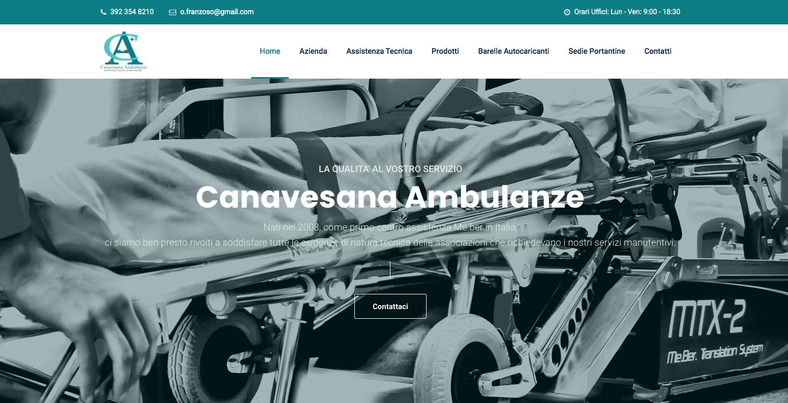 Siti Web Torino per settore emergenza medica