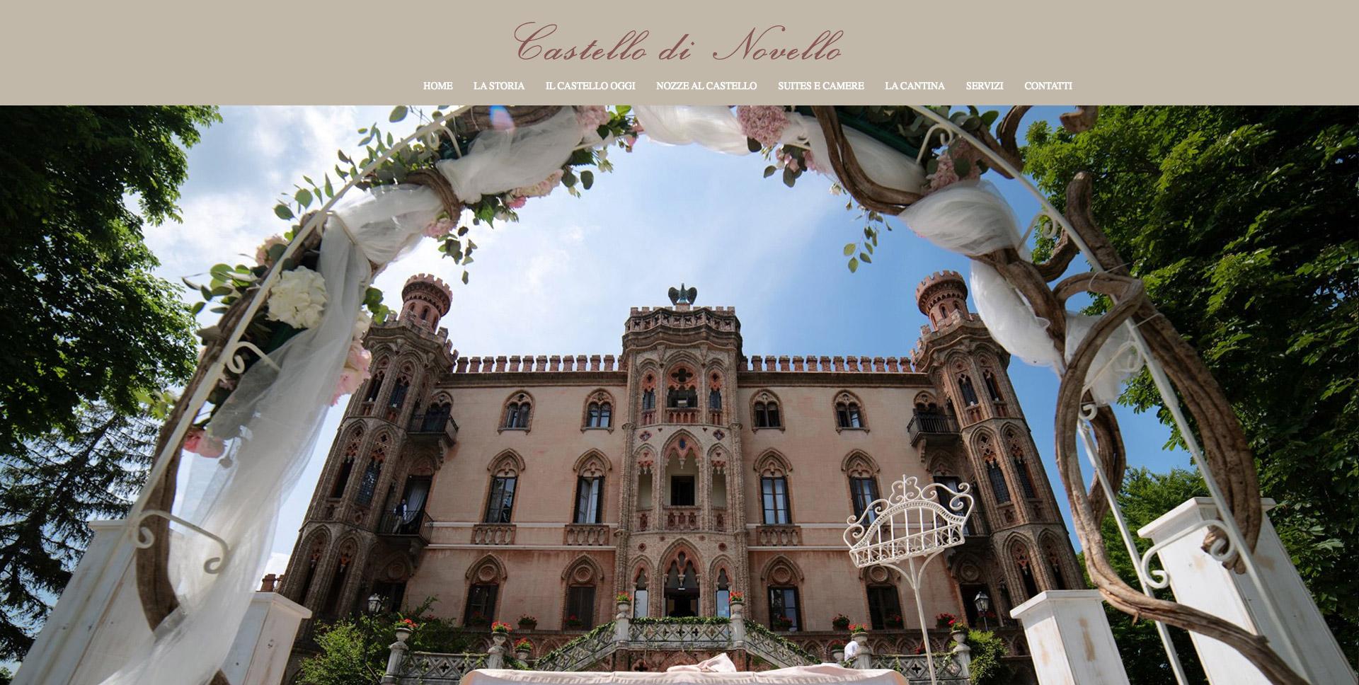 Sito Web Torino - Castello di Novello