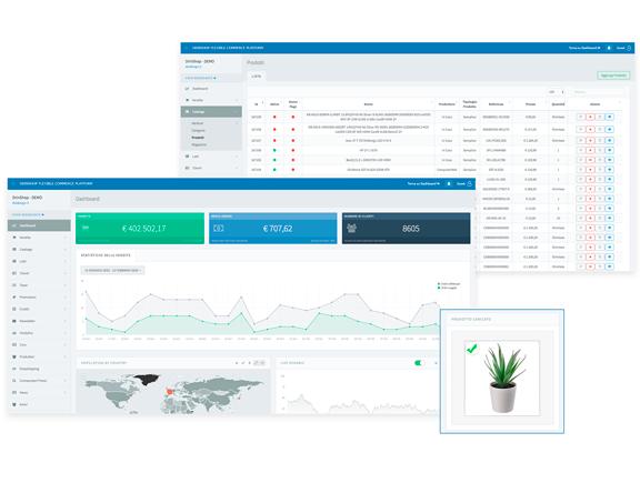 Siti eCommerce Torino drinShop - Piattaforma Cloud per eCommerce