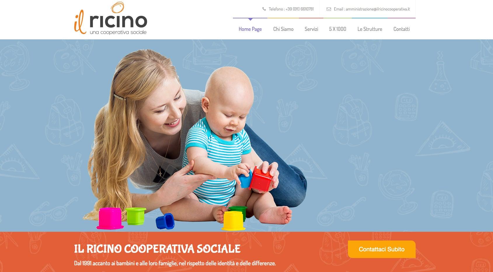 Siti Web Torino per Cooperativa Sociale