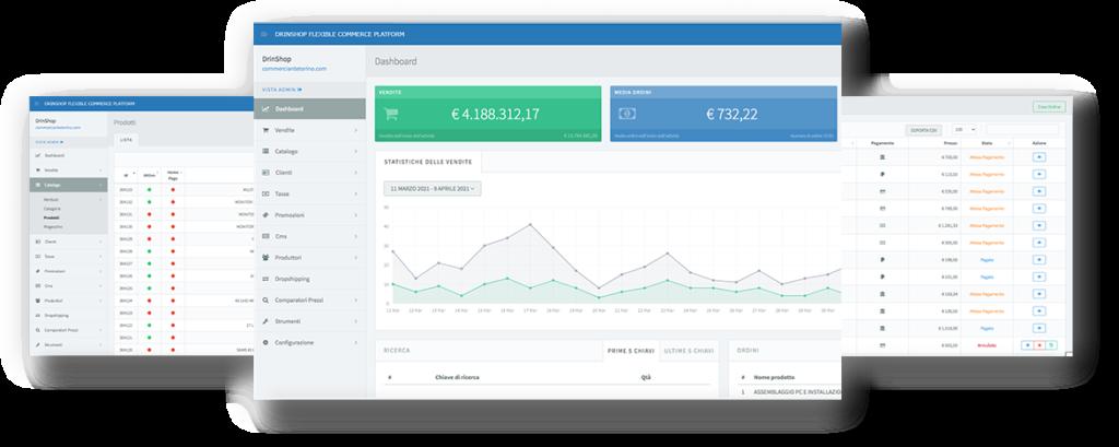 drinShop - Piattaforma eCommerce a Torino