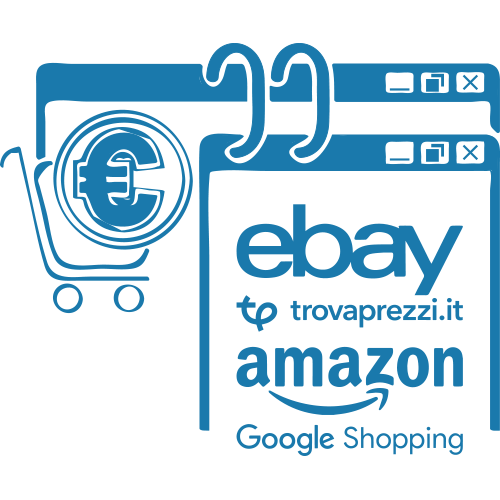 Vendere su Amazon, eBay, Trova Prezzi e Google Shopping | DSI Design